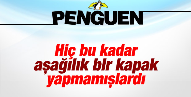Penguen'in kapağında Erdoğan Köşk'e çıkıyor