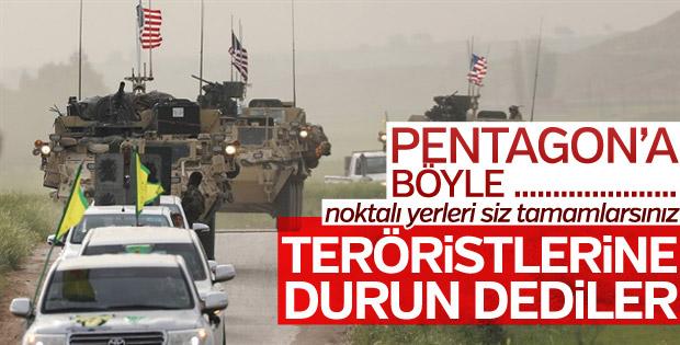 Pentagon: YPG Afrin'e giderse desteği kaybeder