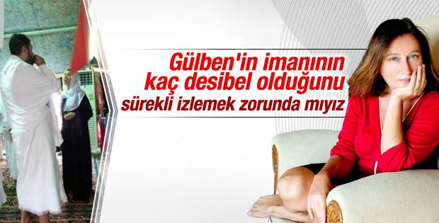 Gülben Ergen'e bir eleştiri de Perihan Mağden'den