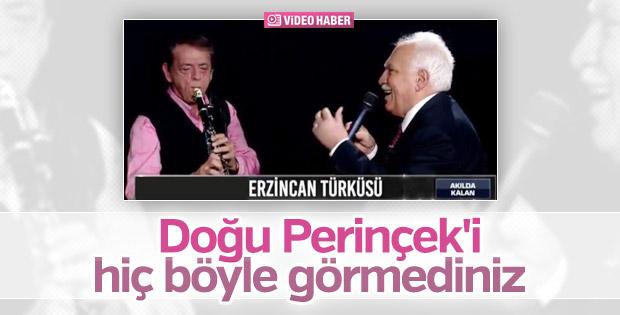 Doğu Perinçek türkü söyledi reklam girdi
