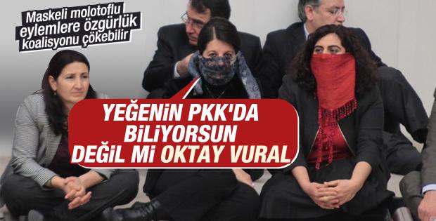 HDP'li vekilden Oktay Vural'ı kızdıracak PKK çıkışı