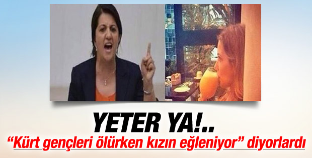 Pervin Buldan: Fotoğraftaki kız benim kızım değil