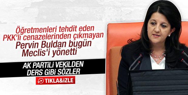 HDP'li Pervin Buldan Meclis'i yönetti