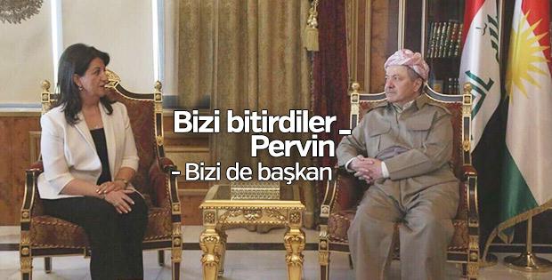 HDP heyeti Kuzey Irak'a gitti