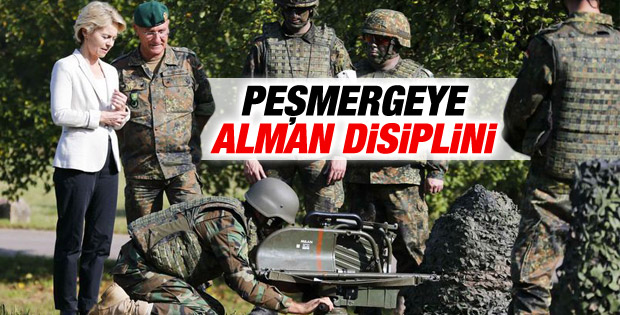 Almanya'da Peşmerge'ye eğitim verilmeye başlandı