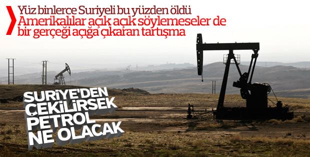 Amerika, Suriye petrolünü İran'a bırakmak istemiyor