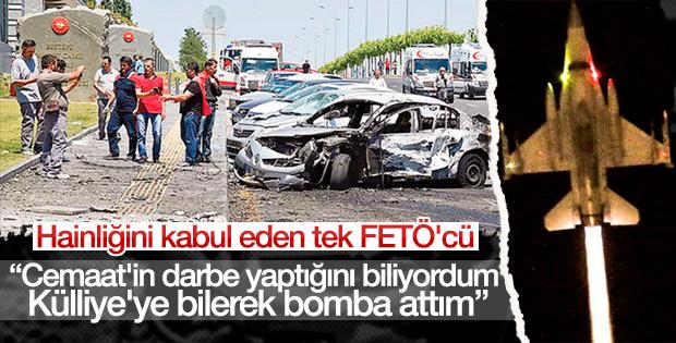 Cumhurbaşkanlığı Külliyesini bombalayan pilot konuştu