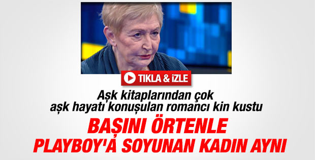 Pınar Kür: Başını örtenle Playboy'a soyunan aynı