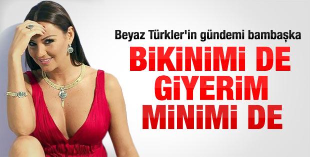 Pınar Altuğ: Bikinimi de giyerim minimi de