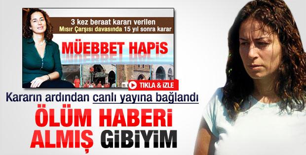 Pınar Selek: Ölüm haberi almış gibiyim
