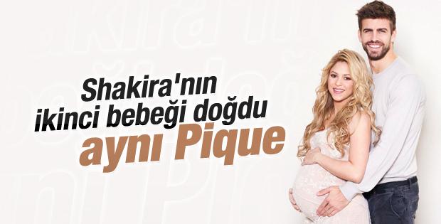 Shakira ikinci bebeğinin fotoğrafını paylaştı