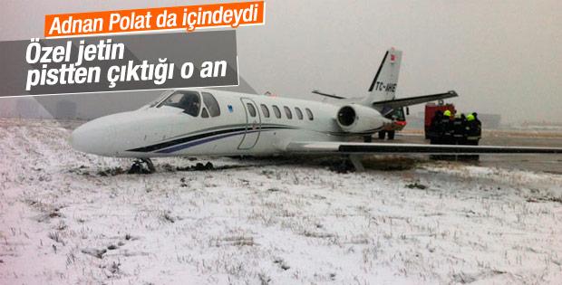 Atatürk Havalimanında jet pistten çıktı