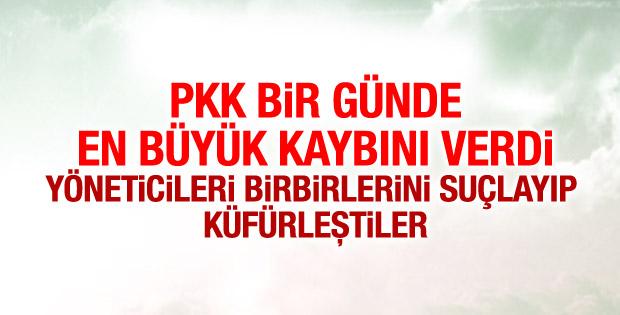 PKK'lı teröristlerin yaşadığı panik telsiz konuşmalarında