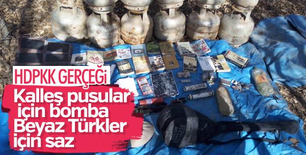 Bingöl'de PKK'nın kullandığı 6 odalı sığınak imha edildi
