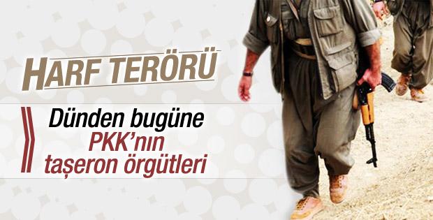 Dünden bugüne PKK'nın taşeron örgüt oyunu