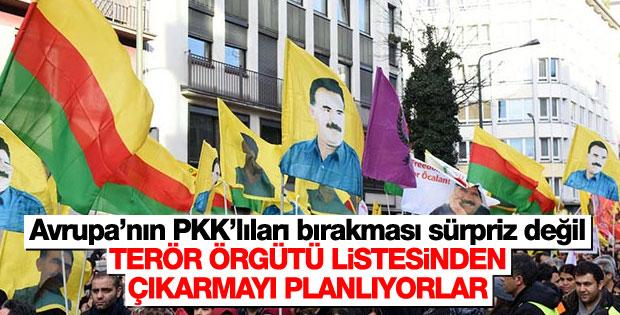 Avrupa PKK'yı terör listesinden çıkarmayı amaçlıyor