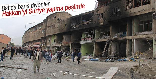 PKK Şemdinli'de hastaneye saldırdı