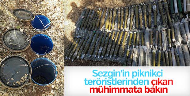 Diyarbakır'da 105 roketatar mühimmatı bulundu