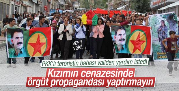 Öldürülen kadın teröristin babasından PKK'ya tepki
