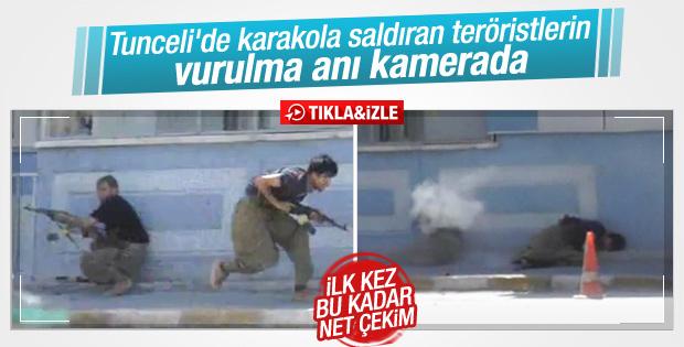 Tunceli'de polis karakoluna PKK saldırısı