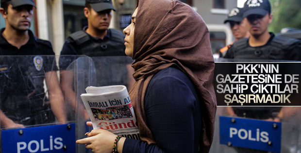 Özgür Gündem'in 9 nöbetçi GYY'si ifadeye çağrıldı