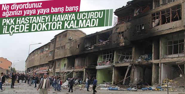 PKK saldırıları sonrası Şemdinli'de doktor kalmadı