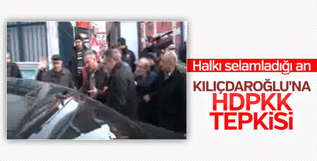 Ankara'da Kemal Kılıçdaroğlu'na tepki