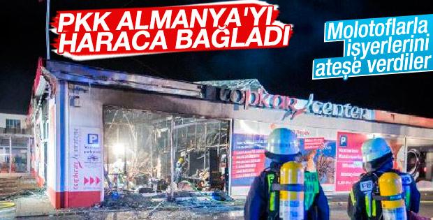 Almanya'da Türklere ait işyerleri kundaklandı