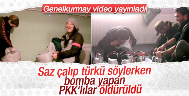Şarkılarla çaydanlık bombası yapan teröristler öldürüldü