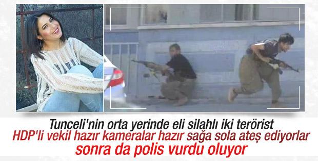 PKK rastgele ateş ediyor HDP polis vurdu diyor