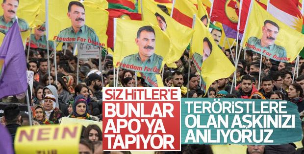 Almanya PKK'ya hayır propagandası yaptırdı