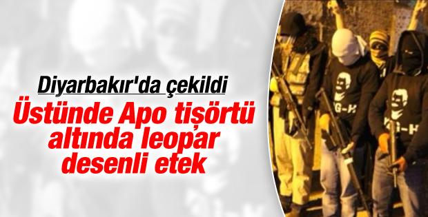 Diyarbakır'da PKK'dan etekli eylem İZLE
