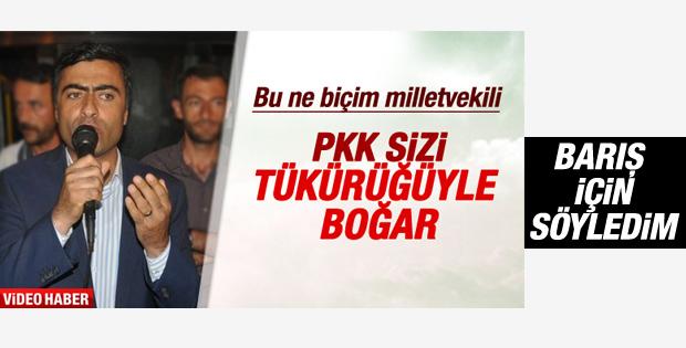 HDP'li Abdullah Zeydan tükürük ifadesi hakkında konuştu