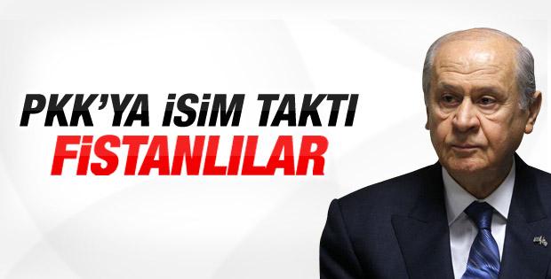 Devlet Bahçeli'den PKK'lılara: Fistanlı teröristler