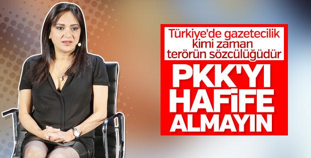 Amberin Zaman terör örgütü PKK'yı övdü