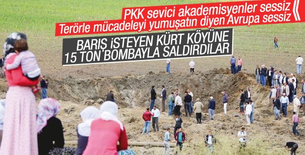 Köye 15 tonluk PKK bombasının ayrıntıları