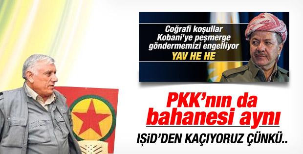 PKK'lı Cemil Bayık'tan IŞİD itirafı