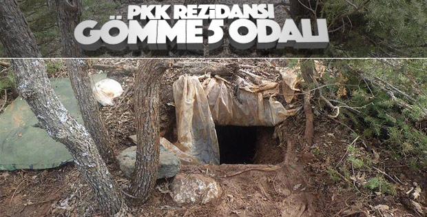 Bingöl'de PKK mühimmatları ele geçirildi