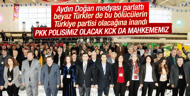 HDP yargıyı KCK'ya asayişi PKK'ya bağlamak istiyor