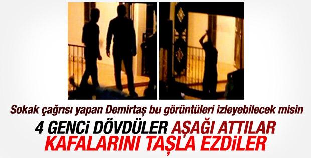 PKK'nın Diyarbakır'daki linç görüntüleri ortaya çıktı