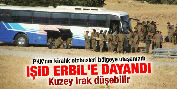 Peşmerge ile IŞİD Erbil yakınlarında çatışıyor