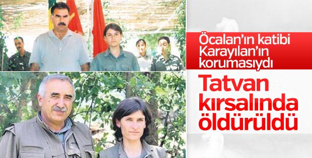 Bitlis'te PKK'lı Nuran Ekinci öldürüldü