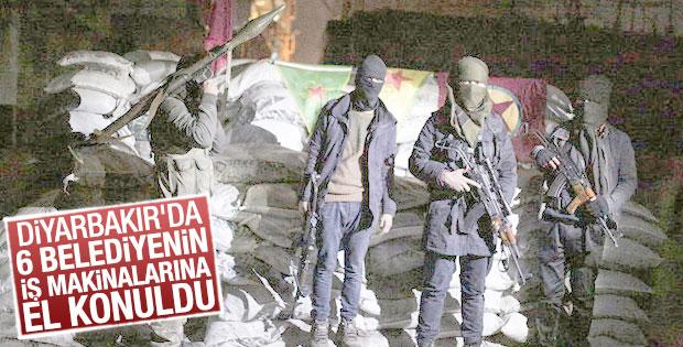 PKK'ya çalışan belediyelerin iş makinalarına el konuldu