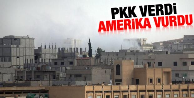 PKK Amerikan uçaklarına IŞİD'in koordinatlarını verdi