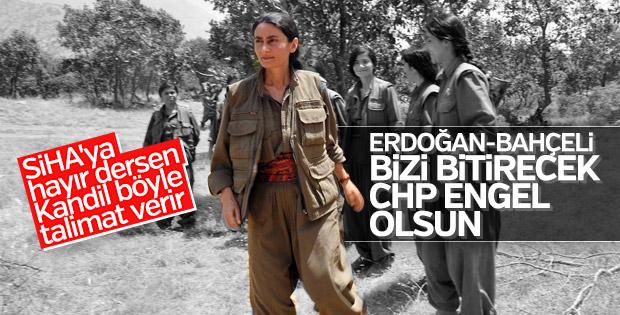 PKK, CHP'nin operasyonlara engel olmasını istedi