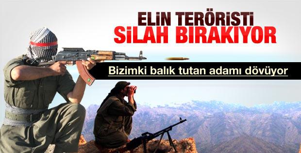 TSK: PKK Bitlis'te balık tutan iki kişiyi dövdü