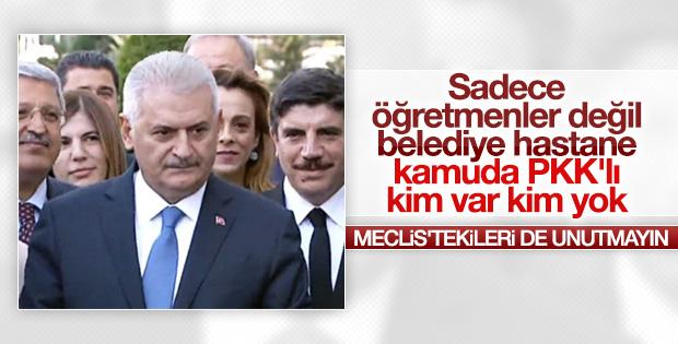 Kamu ve belediyelerde PKK'lı temizliği yapılacak