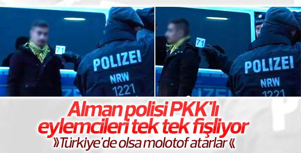 Almanya'da PKK yandaşları tek tek fişlendi