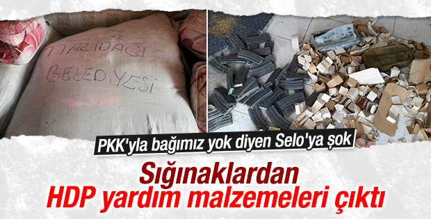 Cizre'de 2 metre genişliğinde PKK tüneli bulundu