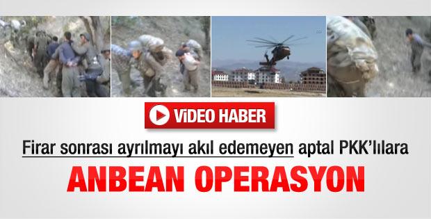 Bingöl Cezaevi'nden kaçan PKK'lıların yakalanma anı - izle